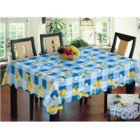 China Vinyl Tablecloth With Backing WF-2008 on sale