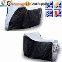 210D silver waterproof motorcycle cover