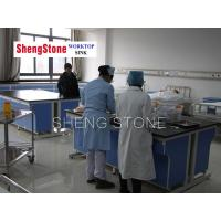 China Hospital workbench-All steel structure epoxy resin mesa workbench wholesale