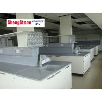 China Anti corrosion laboratory furniture with epoxy resin worktop wholesale