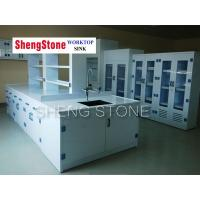 China Strong acid and alkali resistant laboratory work station,Full PP structure lab furniture wholesale