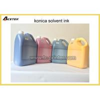 China Mild Oil Based Tinta Konica Solvent Printing Ink wholesale