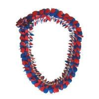 Butterfly Lei - Fancy Butterfly Style (Red,White and Blue)