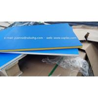 China Dual color HDPE Plastic sheet for outdoor sign board wholesale
