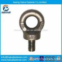 China BS4278 Galvanized Collared Eye Bolts wholesale