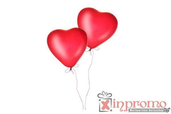 China Promotional Balloon Heart Shape printed