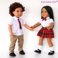 China EXCLUSIVE DESIGNS boy and girl dolls 18 inch twins doll Wholesale wholesale