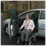 CAR SWIVEL SEAT WHEELCHAIR TRANSFER SYSTEM