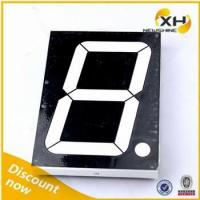China NEWSHINE XH-40011ABW Cathode FND LED Big Blue 4 Seven Segment Display wholesale