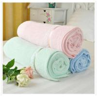 China Eco-friendly 100% Bamboo Terry Towel Swaddle Baby Blanket wholesale