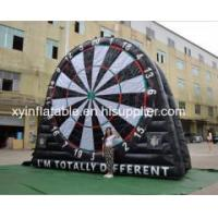 China 7m 23ft Mash Up Foot Dart Inflatable Soccer Dart Boards For Sale wholesale