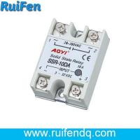 China SSR single phase solid state relay SSR-10DA on sale