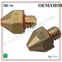 Buy cheap 3d printer brass extruder nozzle from wholesalers