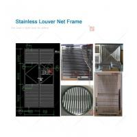 China Stainless Steel Louver Net on sale