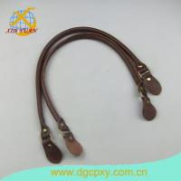 China Leather Buckles And Straps 26 Inch A Pair Brown Bags Strap Purse Handle wholesale