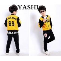 China Three-Piece Long Sleeve Sports Suit for Boys wholesale