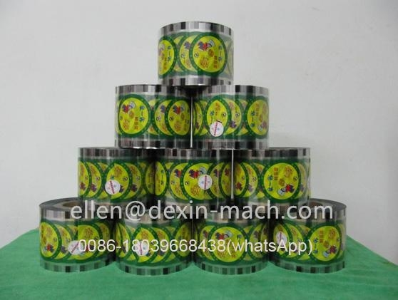 China 2.5/3kg/Roll Sealing Packing Film for Disposable Cups