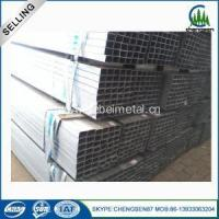 China Hot Rolled Square Mild Steel Rectangle Pipe wholesale