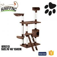 Buy cheap KF8013 Eco-Friendly Plush Cat Tree Furniture Condo Tower from wholesalers