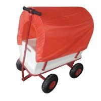 China Kids Wooden Tool Cart With Canopy on sale