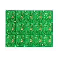China 1Layer PCB 1.6MM single-sided Green soldermask Immersion Gold PCB wholesale