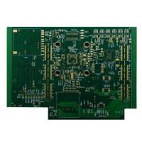 Impedance Control Via in Pad Plated over Chemical Gold Cross Blind Buried Hole PCB