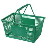 China Plastic shopping baskets for sale wholesale