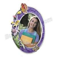 China Butterfly Garden Oval Picture Frame HM1213 wholesale
