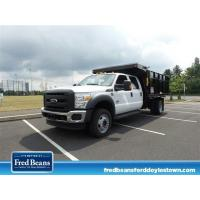 NEW 2016 FORD F-450 CHASSIS 12FT READING LANDSCAPE DUMP DUMP-TRUCK FOR SALE IN DOYLESTOWN, PA