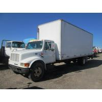 China USED 1999 INTERNATIONAL 4700 BOX VAN TRUCK FOR SALE IN CALEDONIA, NY wholesale