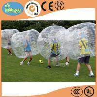 China Hot Selling Human Sized Soccer Bubble Ball/Inflatable Bumper Ball/Hamster Ball for Sale wholesale