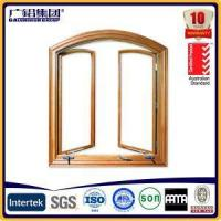 China Australia Type Aluminium Simple Awning Window with Crank Handle and Fixed Fly Screen on sale