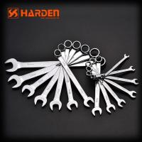 China Professional 14PCS CRV Combination Spanners Wrench Set wholesale