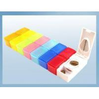 Buy cheap Plastic Pill Box with Cutter from wholesalers