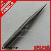 China 6*30H*R1.0*8degree*60L Solid Carbide 2 Flutes Taper Ball Nose Cutting Tools wholesale