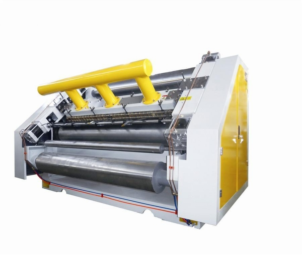 Quality LUM-E Vacuum Sunction type Single Facer- Chain Drive for sale