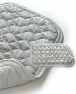 China King Size Magnetic Mattress Pad & 2 Magnetic Pillow Pads - 3 items wholesale