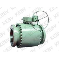 China The product name:Q347F Fixed forged steel flanged ball valves wholesale