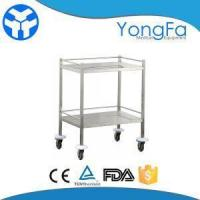 Wholesale Hospital Stainless Steel Instrument Trolley For Dental And Surgical from china suppliers