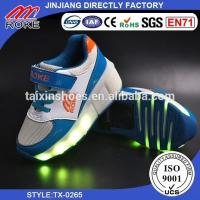 China Wheels Shoes One Wheel Retractable Roller Skate Shoes With Lights for Kids on sale