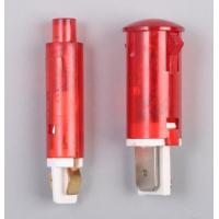 China Red Lens Neon Indicator Lamps with Faston Terminal on sale