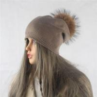 China 2017 Design High Quality Knitted Wool Blend Beanie Hat Instock wholesale