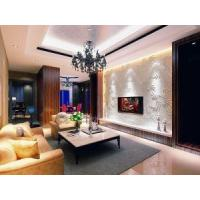 Fireproof Interior Decor 3D Texture Wall Panel for Hotels Wall Decoration