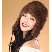 China HT-9 Cheap Genuine Mink Fur Hat Winter on sale