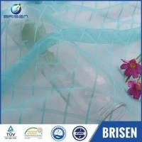 China Blue Plaid Best Place To Buy Tulle net wholesale wholesale
