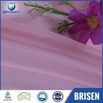 Quality Polyester Fashion Pink Dubai Fabrics Embroidery for sale