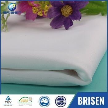 China Waterproof Spandex White Swimwear Fabrics Uk