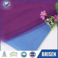 Buy cheap Bridal Wedding Purple Tulle Curtain Fabrics Malaysia from wholesalers