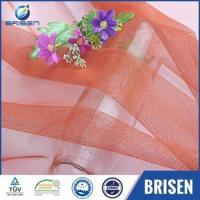 Buy cheap Bridal Wedding orange color Fabrics Place from wholesalers