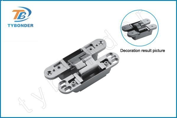 China 3D adjustable concealed hinge TBD055(left hand) - TBD056(right hand)